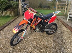 KTM 85 Small Wheel - superb condition not raced in ownership