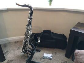 Trevor James Classic II Black & Silver Tenor Saxophone