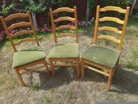 Dining chairs (Free)