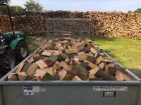 Logs Firewood hardwood for log burners. Seasoned and ready to burn
