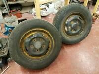 Ford transit tyres wheels on rim
