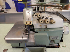 5-Thread 2-Needle Willcox & Gibbs 500-4 Overlock Industrial Sewing Machine, Reduced from £500