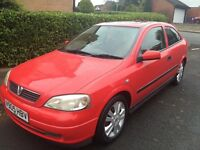 VAUXHALL ASTRA SXI EXCELLENT RUNNER £450