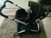 Hauck Duett Twin Pushchair + Carseat Reduced!!