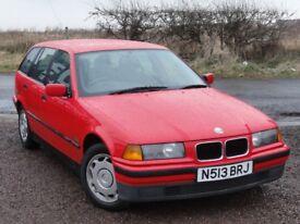 BMW E36 318i Touring, Manual, Company + 1 Private Owner Since 1998, 159k Miles, MOT: April 2018