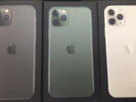 Apple iPhone 11 Pro Max 64gb 256gb 512gb new box