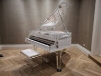Self Playing Transparent Piano For Rent