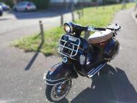 Lexmoto Milano 125 like vespa lovely little scooter