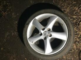 Mazda 6 alloy wheel