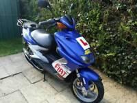 Yamaha aerox 100cc 2004 12 months mot lots of upgrades
