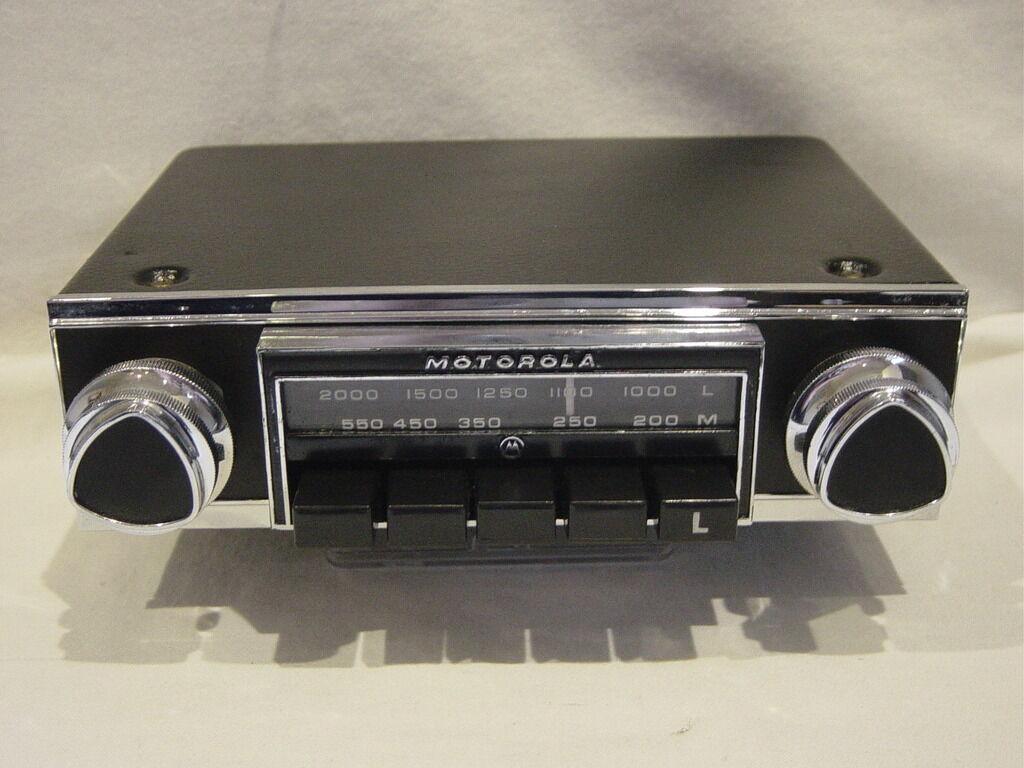 Vintage Car Radio Conversion 38
