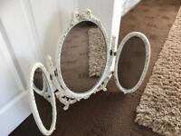 Beautiful Triple Dressing Table Mirror