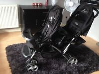 GRACO Stadium Duo Double Pushchair - ONLY USED THREE TIMES - AS NEW