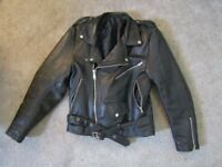 Genuine Real Leather Jacket 8/10