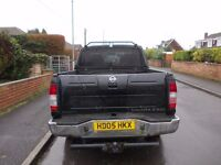NISSAN NAVARA DOUBLE CAB TRUCK 2005 MOT JULY 17 EXCELLENT WORK HORSE GOOD TYRES BRAKES