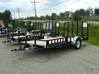 "(New) 2014 P.J. 83""X14 S/A Utility trailer"