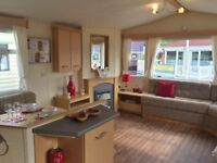 Cheap Used Sited Static Caravan For Sale in Borth, Ceredigion, Mid/West Wales, Beachside, Decking