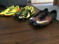 Football boot selection