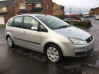 Ford Focus C-Max LX 1.6 TDCI 2007 Full Years MOT Immaculate as Astra Vectra Mondeo 308 Golf Corsa