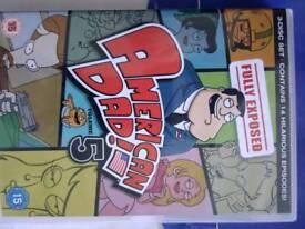 American dad series,5 Box set