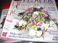 Three Issues of Flowr Arranging Magazines