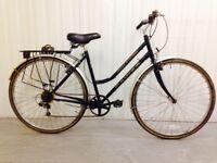 Dawes Hybrid Ladies city bike 18 speed Lightweight Small Frame Serviced Warranty