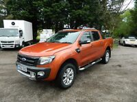 Ford Ranger Wildtrak 3.2 TDCI Automatic 4X4 Doublecab Pickup 2013 VGC
