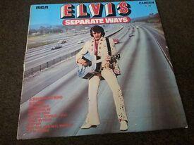 """Elvis Presley 12"""" Album - Separate ways"""