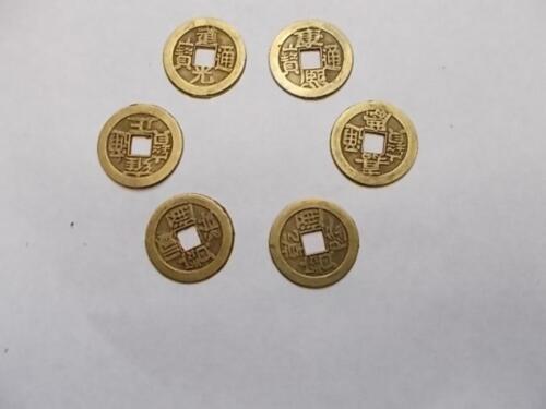 60 X Chinesische Glücksmünzen Käsch Glücksbringer Glücksmünze In