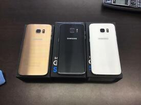 Samsung galaxy s7 edge 32gb unlocked very good condition with warranty and different colours