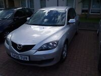 56 Plate Mazda 3 Katano, Only 81,000 miles from new.