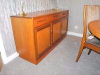 GPlan sideboard, teak wood, Fresco range.