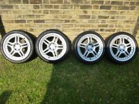 18 Mercedes AMG Style Alloys Staggered Fit Wider Rears