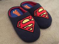 Size 8 Superman Slippers CHEAP