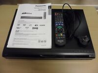 PANASONIC DMR-EX768 DVD PLAYER DVD RECORDER TV RECORDER VIA BUILT-IN FREEVIEW 160GB HARD DRIVE