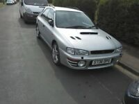 Subaru Impreza UK turbo 2000 wagon WRX STI