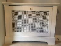 White Radiator Cover 102 x 18 cm