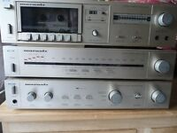 Marantz system complete with turntable