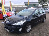 2008 Peugeot 308 SW 1.6 HDi FAP SR 5dr Diesel / 1 Year MOT / 3 Month RAC Warranty Included