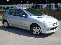 2006 (55) Peugeot 206 1.4 Verve | LONG MOT | HPI CLEAR | SERVICE HISTORY |