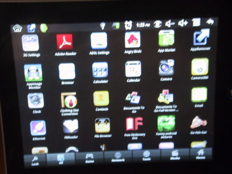 Wonder Media WM8650 2GB, Wi-Fi, 7in - Android Tablet with Touch Screen