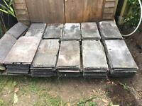 300+ reclaimed roof slates plus ridge caps