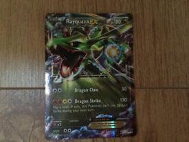 Rayquaza EX Half Art Promo Mint Condition/Like New XY73 Holo