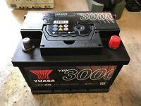 YUASA YBX3000 60Ah car battery