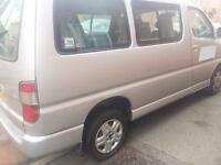 Toyota Hiace 8 seater Swb minibus