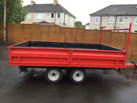 IVOR WILLIAMS TIPPING TRAILER TWIN AXEL