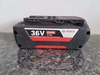 BOSCH 36v Li-ion 2.0ah battery