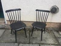 2 x chairs for diy project