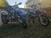 Yz 250 x2 and trailer