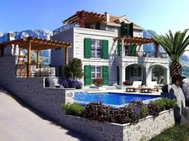 **FOR SALE**, Villa with Pool and Fantastic view of Dalmatian Island and Adriatic Sea